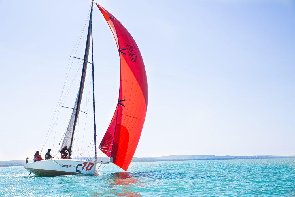 CODE10 sails - main and genakker